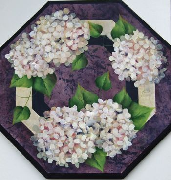 Purple Hydrangea Topper Kit
