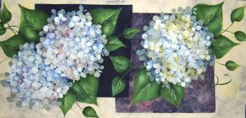 Hydrangea Table Runner Kit