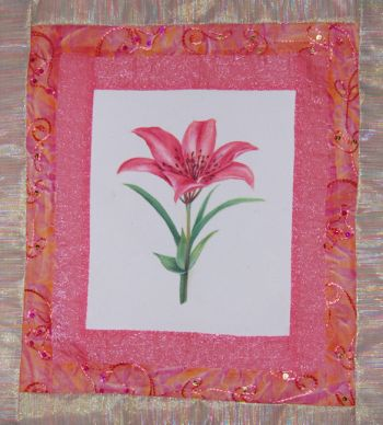 Connecticut Lily e-pattern packet