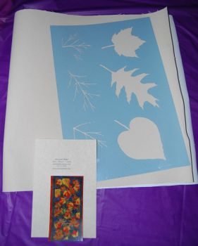 Fall Leaves Floor Cloth Kit