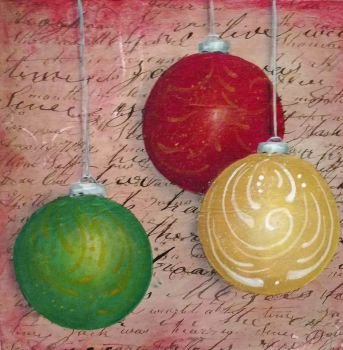 Vintage Holiday Ornament