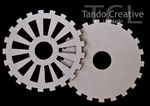 Set of 3 small cogs