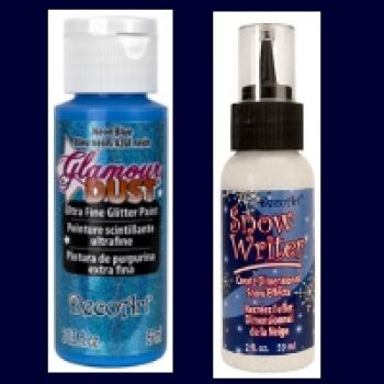 Glamour Dust Sprinkle on Glitter & Glitter Paint