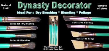 Dynasty Decorator Brushes