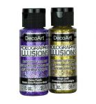 Holographic Illusions holographic glitter paint