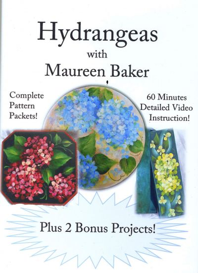 Hydrangeas with Maureen Baker