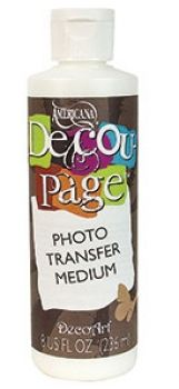 Decou-Page Photo Transfer Medium