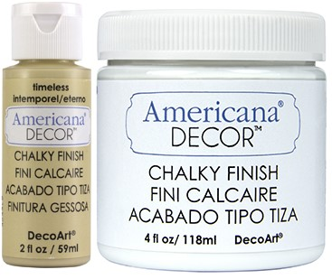 Chalky Finish Paint A - M