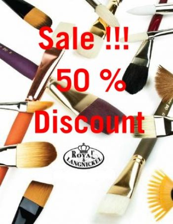 Royal Langnickel Brushes 50 % off