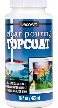 Pouring Top Coat 8 oz